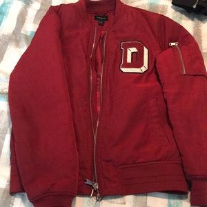 Comfortable and warm bomber jacket
